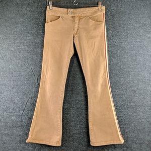 Rock & Republic Vintage Look Brown Flare Jeans